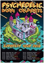 Psychedelci Porn Crumpets tour poster