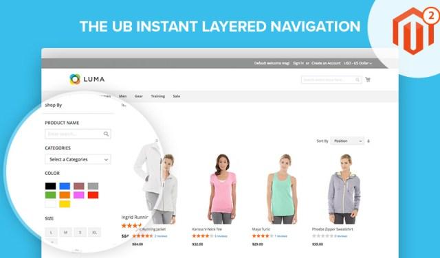 [Magento 2] UB Instant Layered Navigation