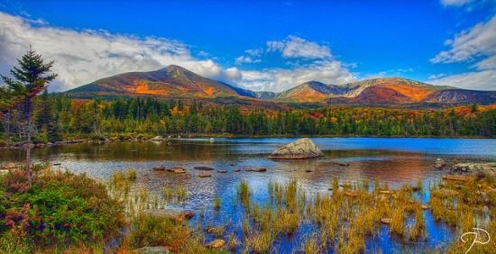 Panoramic Wallpaper Fall Guida Di Viaggio Nel Maine Baxter State Park
