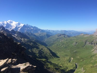 Views of the Mont Blanc massif