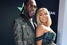 Photo of Burna Boy & Stefflon Don Lock Lips As They Celebrate One Year Of Dating