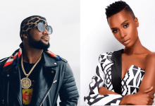 """Photo of Cassper Nyovest Goes Nuts After Miss Universe """"Zozibini"""" Reveals She Likes His Song"""