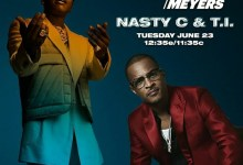 "Photo of Nasty C To Appear On ""Late Night With Seth Meyers"" Alongside TI"
