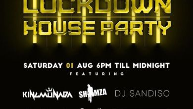 Photo of Shimza, Moozlie, Rouge, King Deetoy, Monada & Sandiso For For 31 July – 1st August Channel O Lockdown House Party