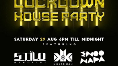 Photo of Saturday 29, August Channel O Lockdown House Party And Mix Line-up