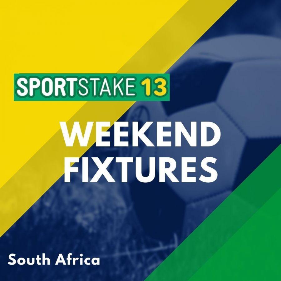 Sportstake 13 Weekend Fixtures