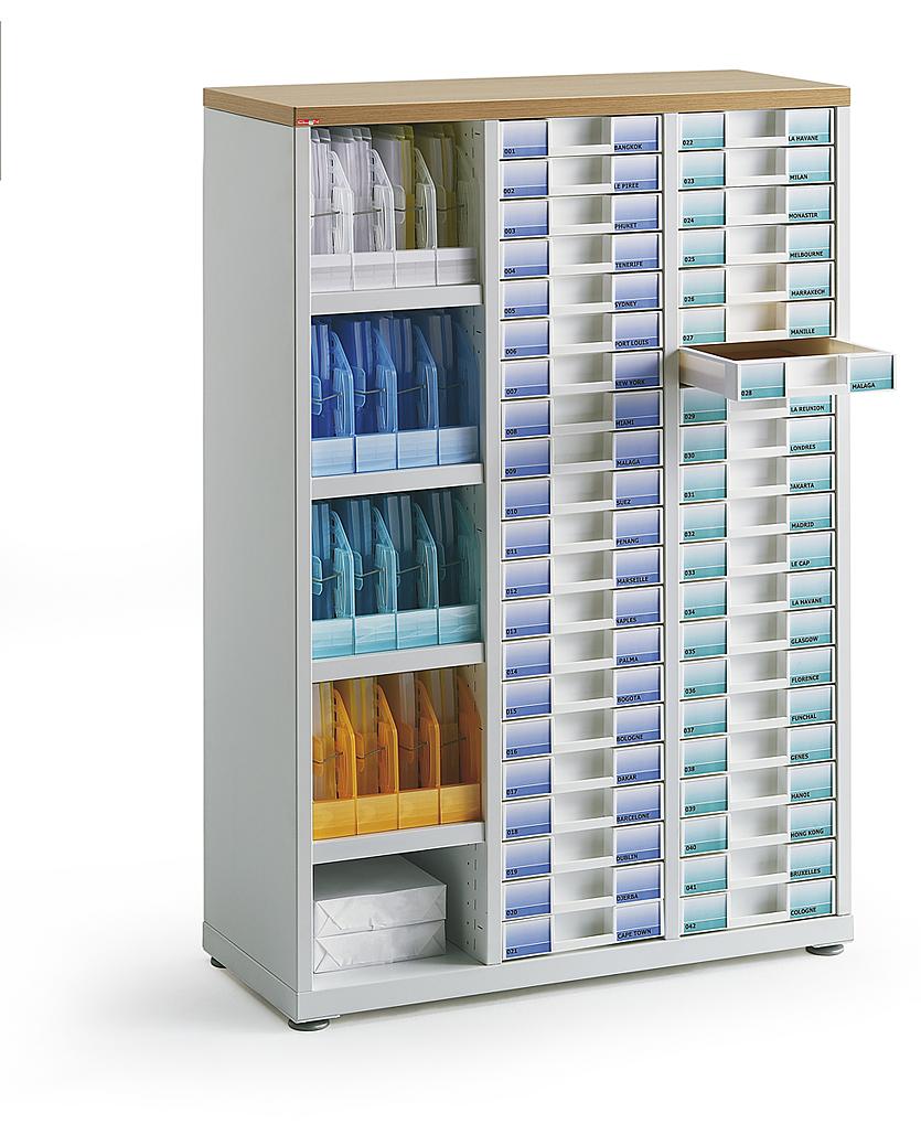 armoires de bureau a tiroir en facade