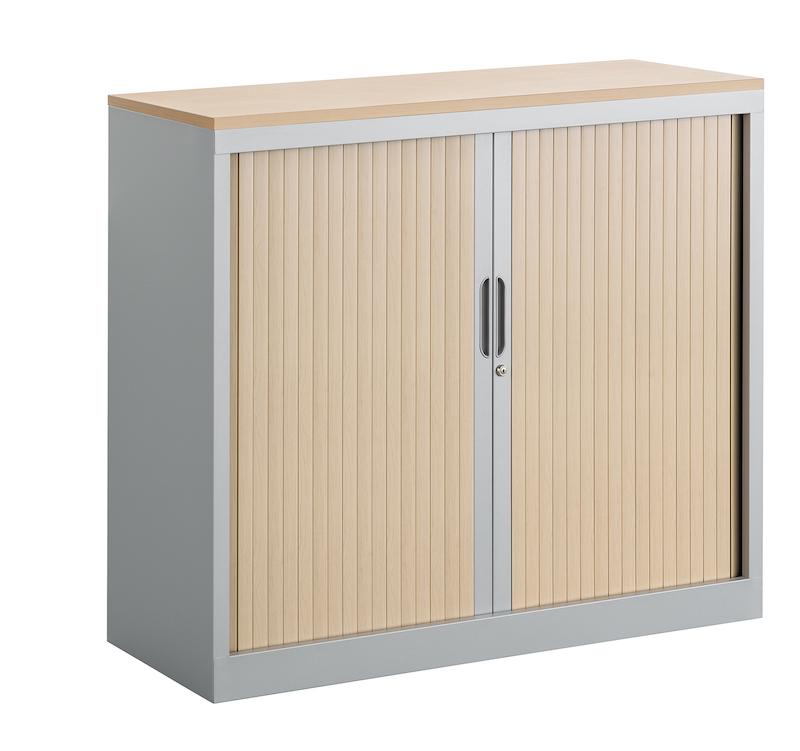 armoires a rideaux haute basse metal bois ubia mobilier bureau