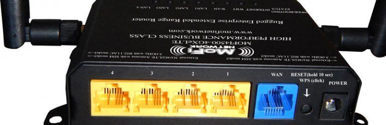 MoFi SIM4 LTE Gateway (Back)