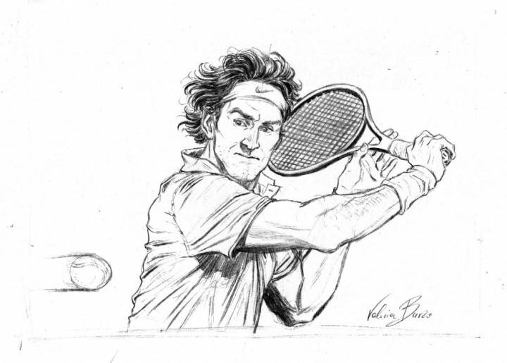 Are These The Greatest Ever Drawings Of Roger Federer