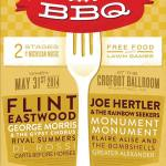 Concert Review: Flint Family BBQ Featuring Blaire Alise & the Bombshells, George Morris & the Gypsy Chorus, Monument, Monument, Joe Hertler & the Rainbow Seekers, and Flint Eastwood