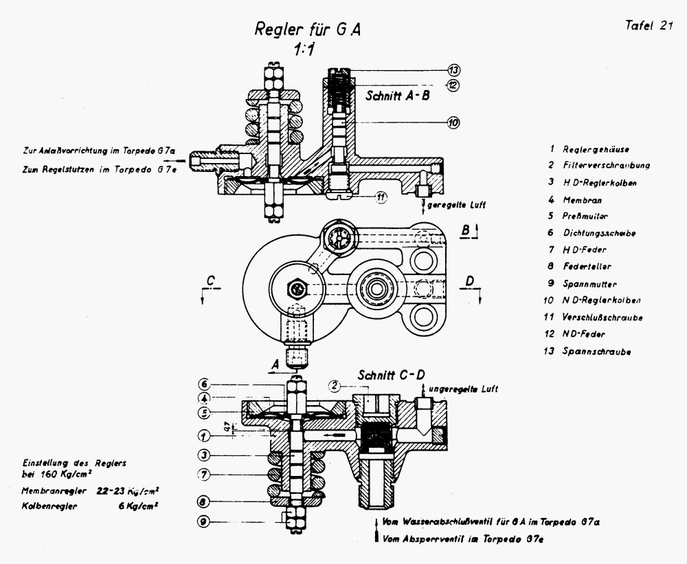 medium resolution of plate 21 reducing valve for gyroscope