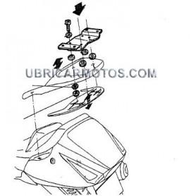 Soporte Maleta Trasera Honda Silverwing 400 05-15 Shad Top