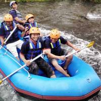 Bali Outbound Ubud Camp Full Day - Rafting