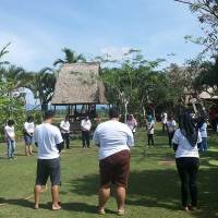 Gathering Di Ubud Camp Bali - PT. Pelabuhan Tiga Bersaudara