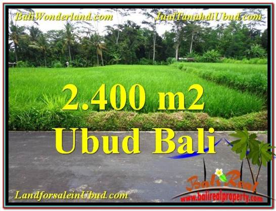 Exotic LAND FOR SALE IN UBUD TJUB563