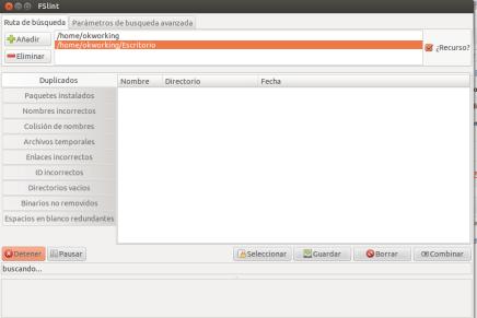 Eliminar archivos duplicados en Ubuntu con Fslint