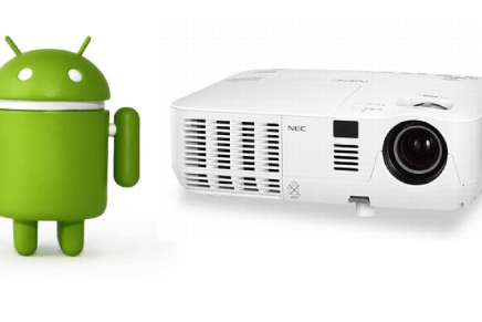 ¿Cómo conectar un smartphone o tablet Android a un proyector?