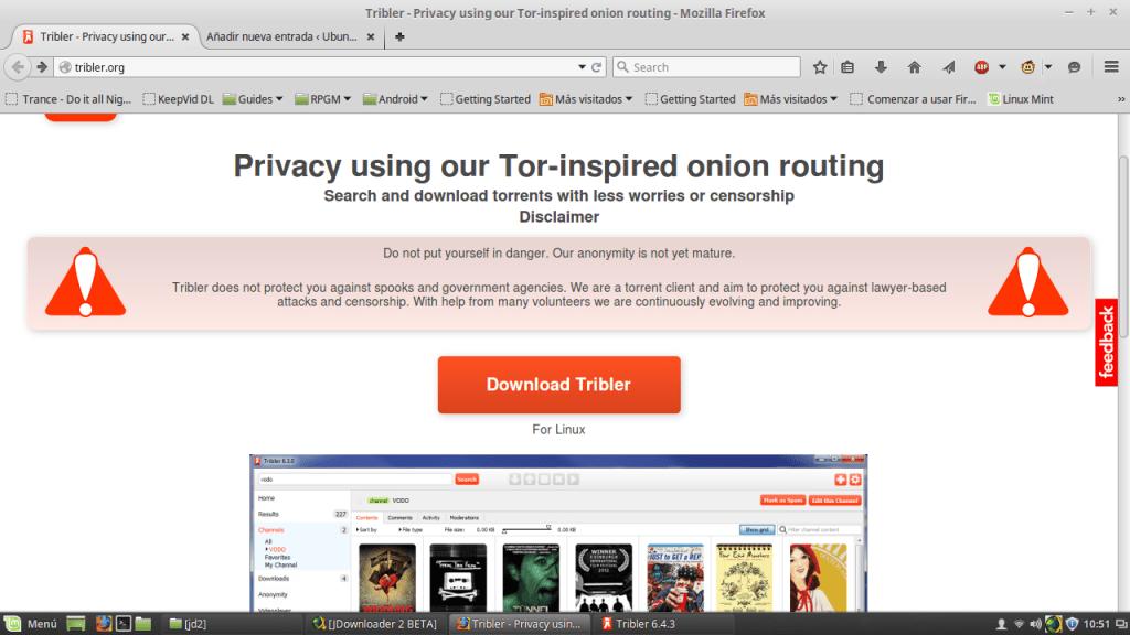 con utorrent in modo anonimo