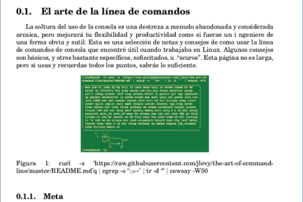 Zathura, un simple lector de PDF