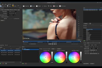 Disponible Shotcut 15.08, el editor de vídeo de código abierto.