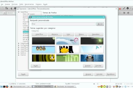 Personaliza la suite LibreOffice en tu computador