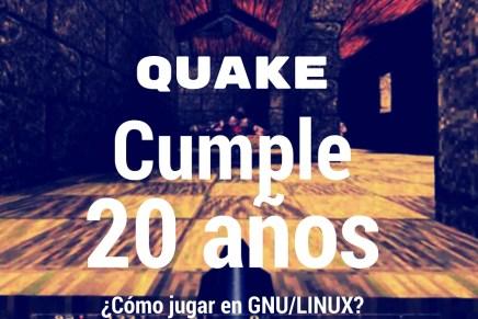 Quake cumple 20 años