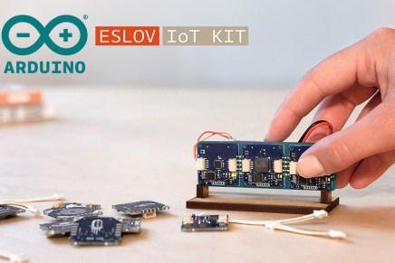ESLOV, lo nuevo de Arduino en Kickstarter