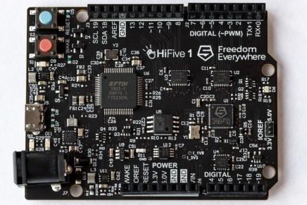 RISC-V: procesadores personalizados Open Source dispuestos a revolucionar el Internet de las cosas
