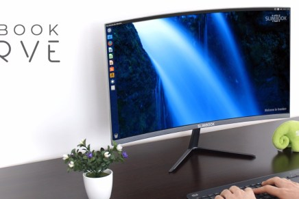 Slimbook Curve, el PC que optimiza tu escritorio