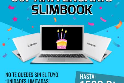 ¡Slimbook cumple 3 años!