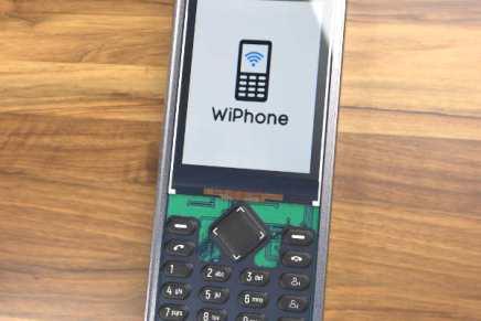 ESP32 WiPhone, un teléfono móvil de código abierto VoIP para construir en casa
