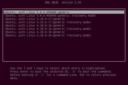 Cómo instalar kernel 5.0 en Ubuntu y distribuciones derivadas