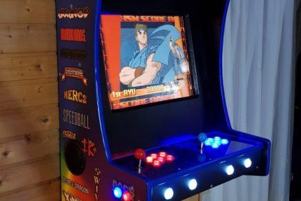 Construye tu propia recreativa arcade con Raspberry Pi