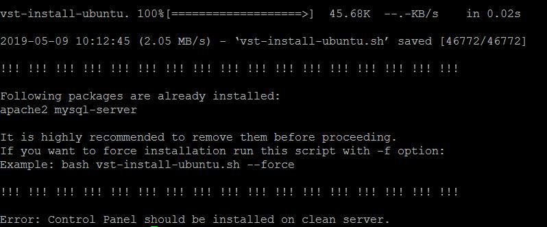 <div>How to Setup & Configure VestaCP on Ubuntu 16.04</div> 20