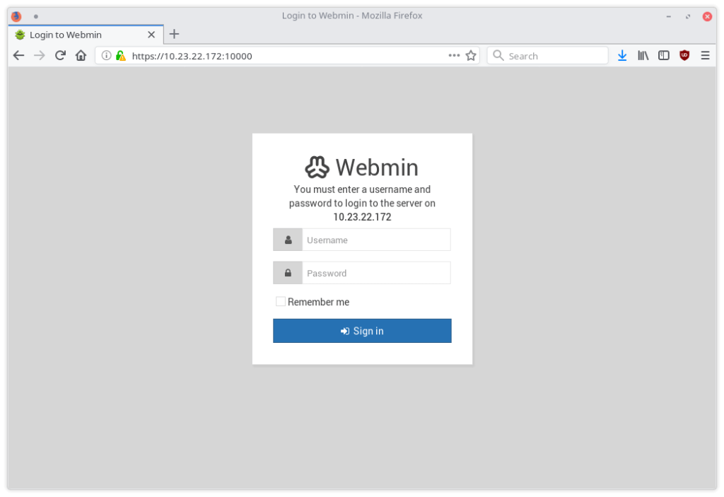 Installing Virtualmin 2