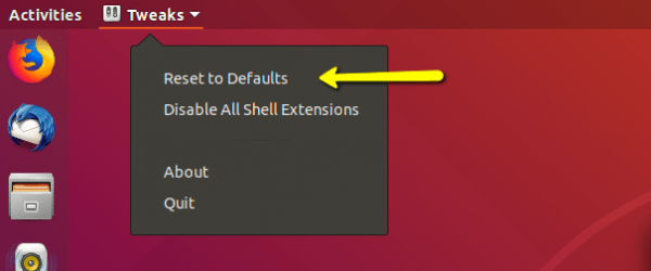 How to Reset Gnome Desktop on Ubuntu 18.04 Bionic 5