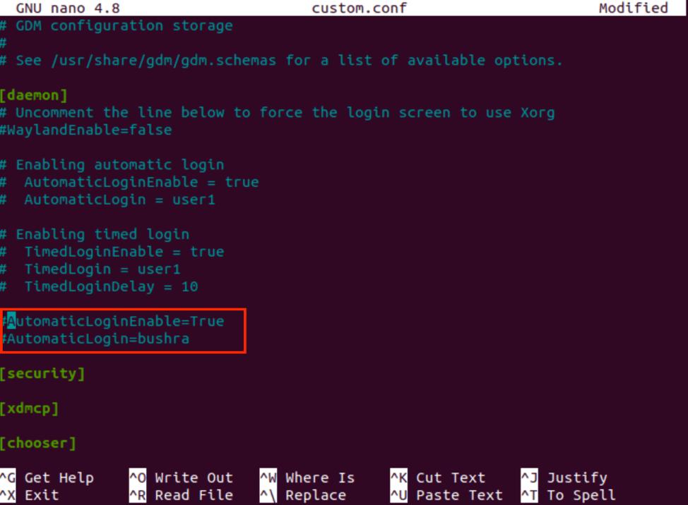 How to Enable Automatic Login on Ubuntu 20.04? 10