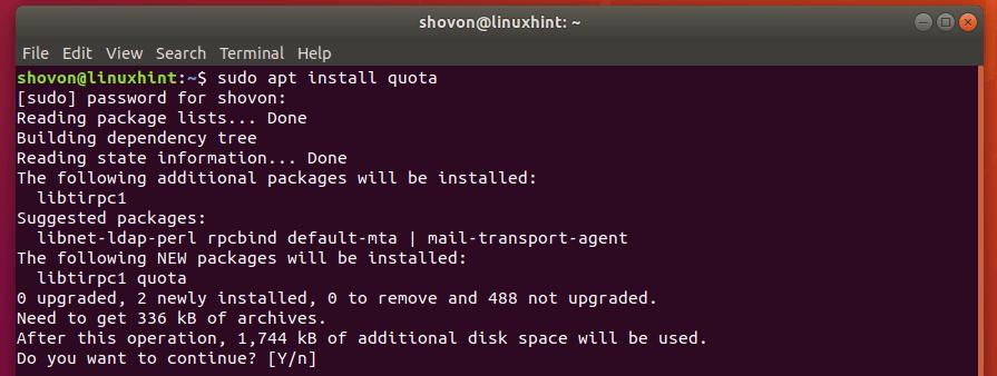 How to Use Quota on Ubuntu? 3