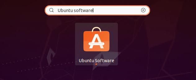 Open Ubuntu Software Center