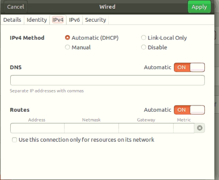 How to configure the Ubuntu DHCP client 7