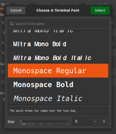 How to Change the Terminal Font Size in Ubuntu 7