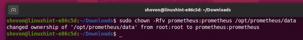 How to Install Prometheus on Ubuntu 20.04 LTS? 19