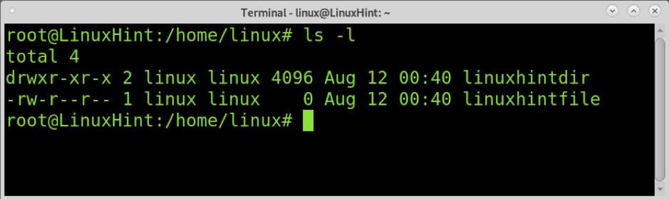 How to use Chown in ubuntu 1