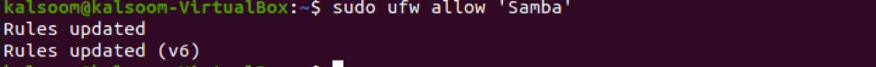 How to Share a Folder on the Local Network With Ubuntu 5