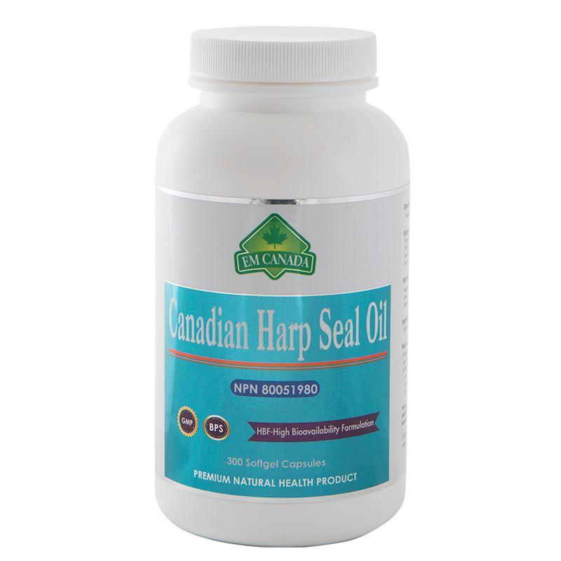 Nutragenius. Canadian Harp Seal Oil. 300 softgel Capsules