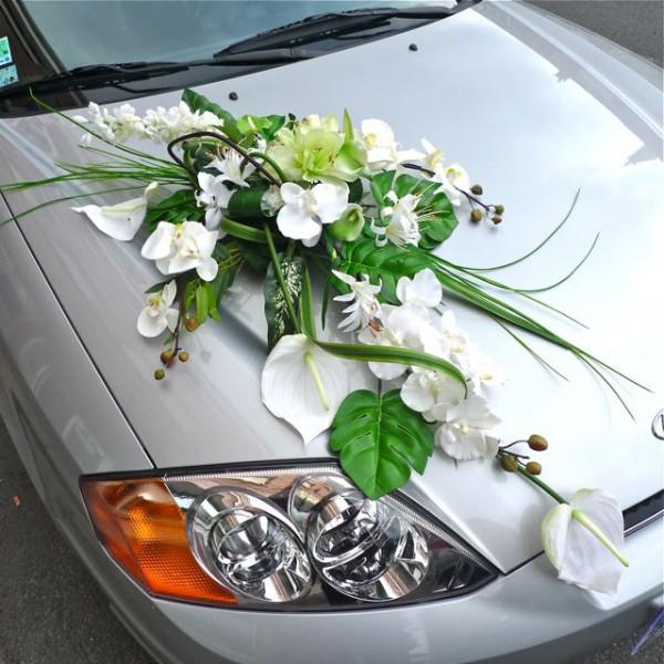 Auto Hochzeit Montage