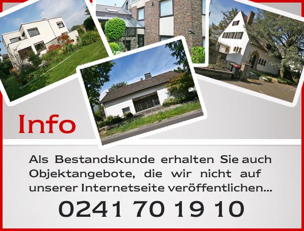 Immobilien in Aachen  Immobilienmakler fr Villa Haus