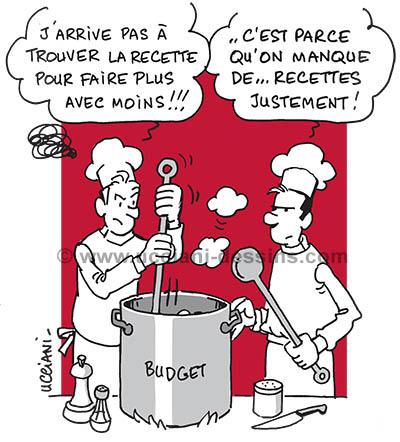 Recettes budget