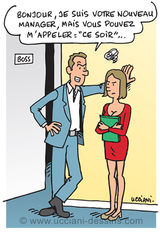 harcelement sexuel en entreprise